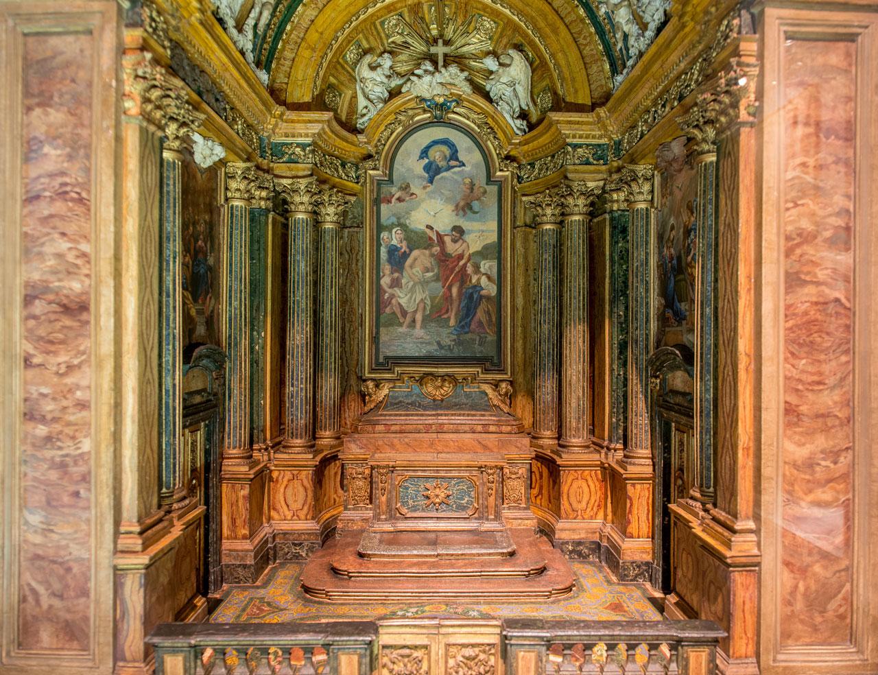 Modelo da Capela de São João Batista