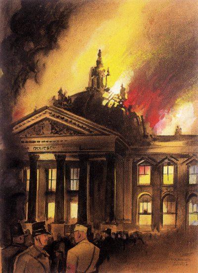 O Incêndio do Reichtag