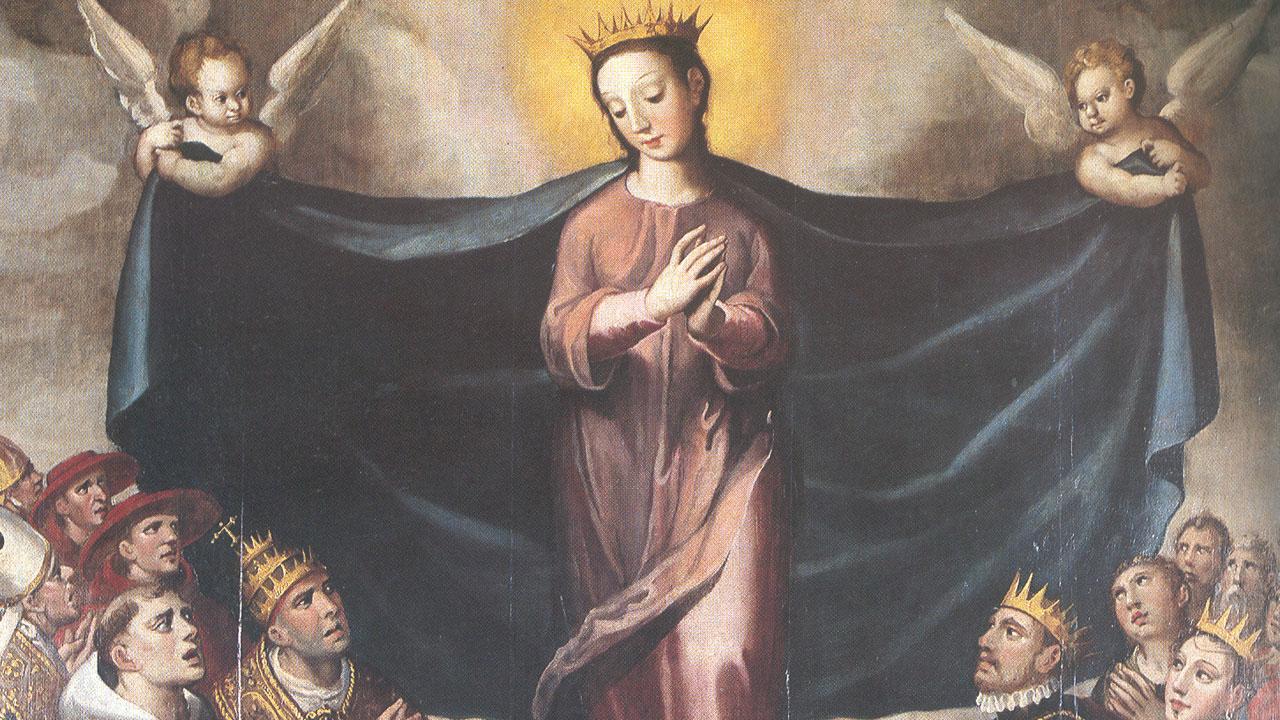 quadro com santos
