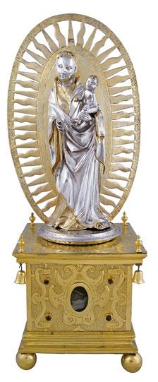 Nossa Senhora com o Menino, Resplendor e Relicário